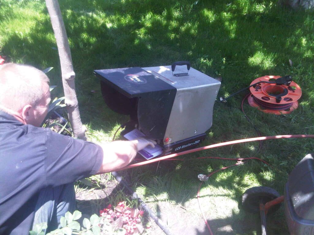 sewer line inspection camera